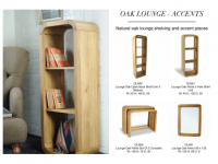 Oak Lounge Accents