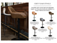 Chevy bar stools
