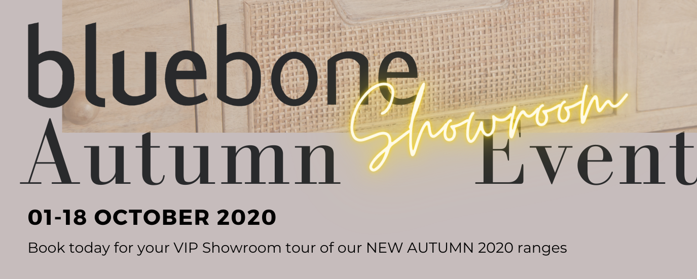 Bluebone Autumn Showroom Event