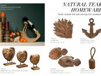 58 - Natural Teak Homeware